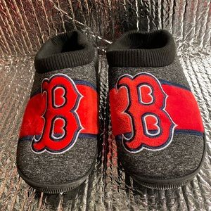 New Boston Red Sox Slippers Men's L Fit Size 11-12